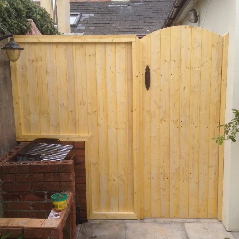 Supplied Amp Fitted Wooden Side Gates Garden Gates Louth